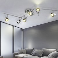 Modern retro track lights living room led light creative bar clothing store personalized LED track spotlight led lamps spot lamp