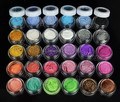 30 Colores de Sombra de Ojos En Polvo de Pigmentos Minerales de Colores de Sombra de Ojos Maquillaje 2018 03 W