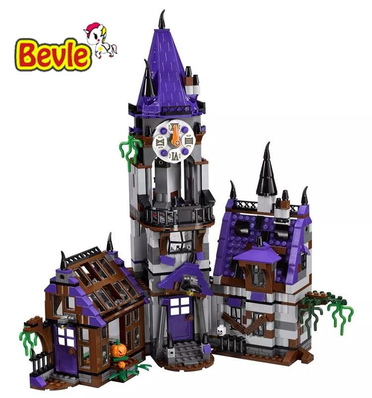 Bela 10432 Scooby Mystery Mansion Shaggy/Velma/Daphne Building Blocks Bricks Toy Compatible With Legoings Scooby-Doo 75904 pogo lepin bela 10430 scooby doo mystery machine scooby doo building blocks bricks toys compatible legoe
