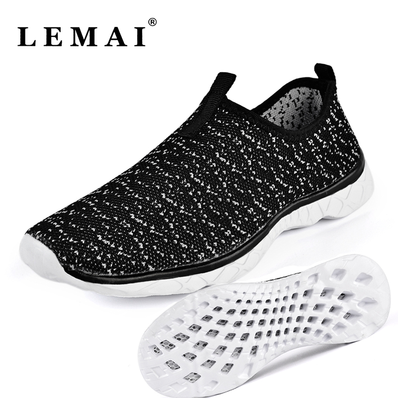 LEMAI Quick Dry Women Sneakers Summer Breathable Gym Sport Female Running Shoes Outdoor Soft Sole Light Trainers Shoes