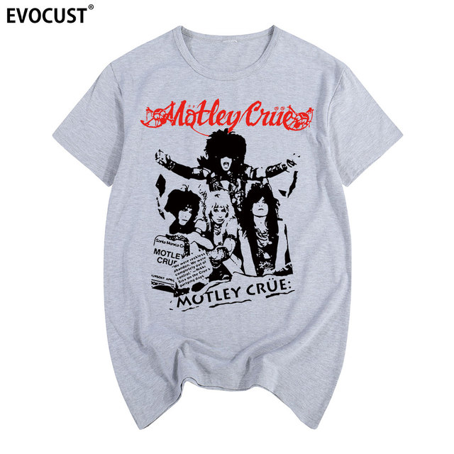 a7e7894fc00 2019 rock band motley crue Shout At The Devil World Tour 1983 Dr. Feelgood  Vintage T-shirt Cotton Men T shirt New TEE TSHIRT