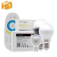 Mi Light 2 4G AC85 265V E27 6W Wifi LED Bulb Lamp Wireless Brightness Color Temperature