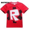 2017 дети одежда мальчики майка Roblox Stardust Этические хлопка футболку мальчики костюм звездные войны Бродяга-1 roupas infantis menino