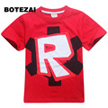 2017 ropa de los cabritos camiseta de los muchachos Roblox Stardust Ética algodón camiseta muchachos traje de Star wars Rogue Uno roupas infantis menino