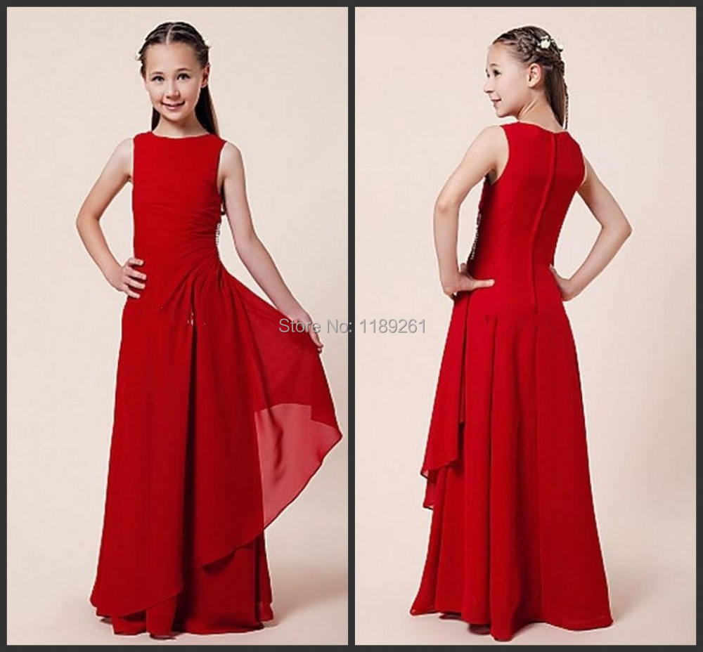 Popular red black and white bridesmaid dresses buy cheap red black cheap simple fashion scoop sheath pleat dresses chiffon red black and white junior bridesmaid dresses custom ombrellifo Choice Image
