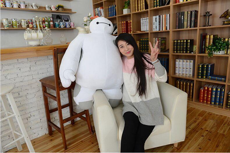 Berkualiti tinggi Saiz besar 50cm Baymax Cartoon Movie Plush Dolls - Mainan lembut - Foto 5