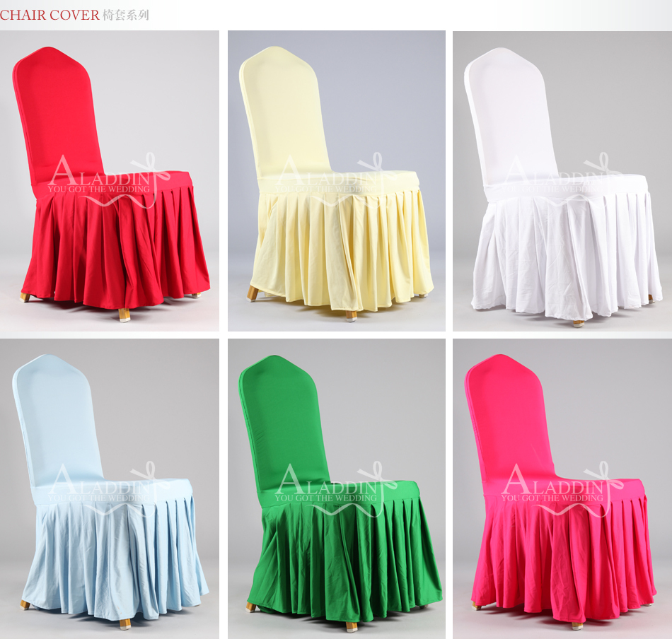 chair covers for you tufted dining s v elegant pleated stretch party cover banquet wedding hotel skirt pendulum spandex in from home garden