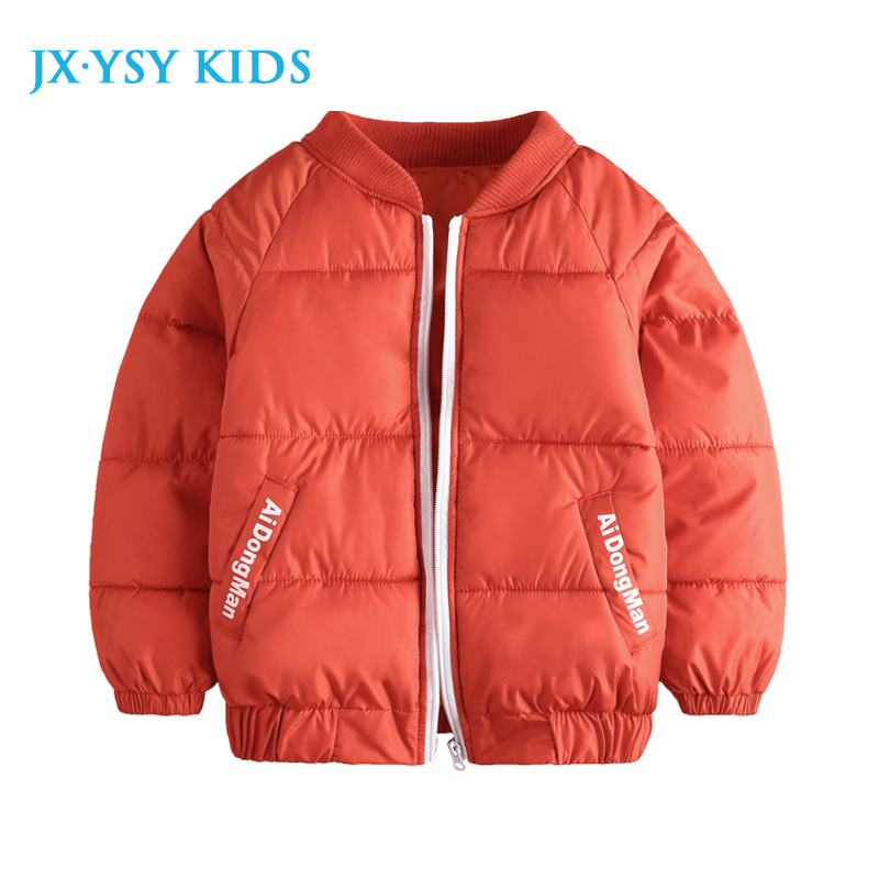 Children's Winter Jackets Cotton-Padded Jacket Thicken Coller Kids Down Coats and Jackets Teenage Boys Parka Girls 4 8 10 Years