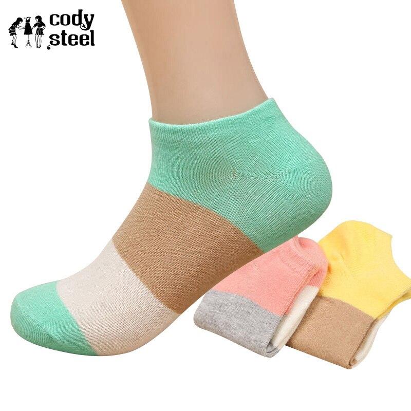 Cody Steel Summer Sock Cotton Woman Casus