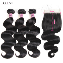 Lolly Hair Body Wave Bundles With
