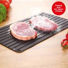Кухонный инструмент для размораживания мяса замороженных продуктов, Безопасный инструмент для быстрого размораживания, лоток для фруктов, быстрая пластина для разморозки, разделочная доска, кухонные инструменты