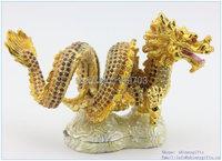 handmade enamel diamond dragon luxurious wedding decor wholesales free shipping