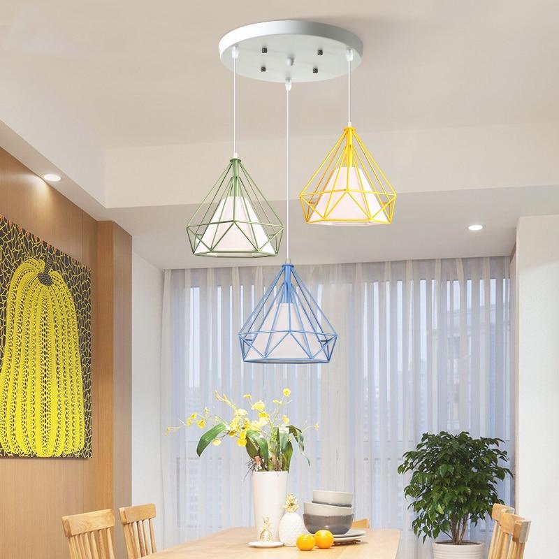 Modern simple creativity Hang lamp pendant lights led lights for home nordic pendant light fixtures loft style hanging lamp|Pendant Lights| |  - title=