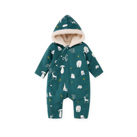 Pureborn New Year S Costume For Boy Girl Children Winter Overalls Newborn Baby Romper Baby Clothes