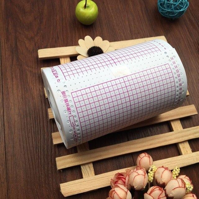 펀치 카드 기계에 대 한 100 pcs 카드 펀치 장치 뜨개질 기계에 대 한 뜨개질 스웨터 손 공예 액세서리