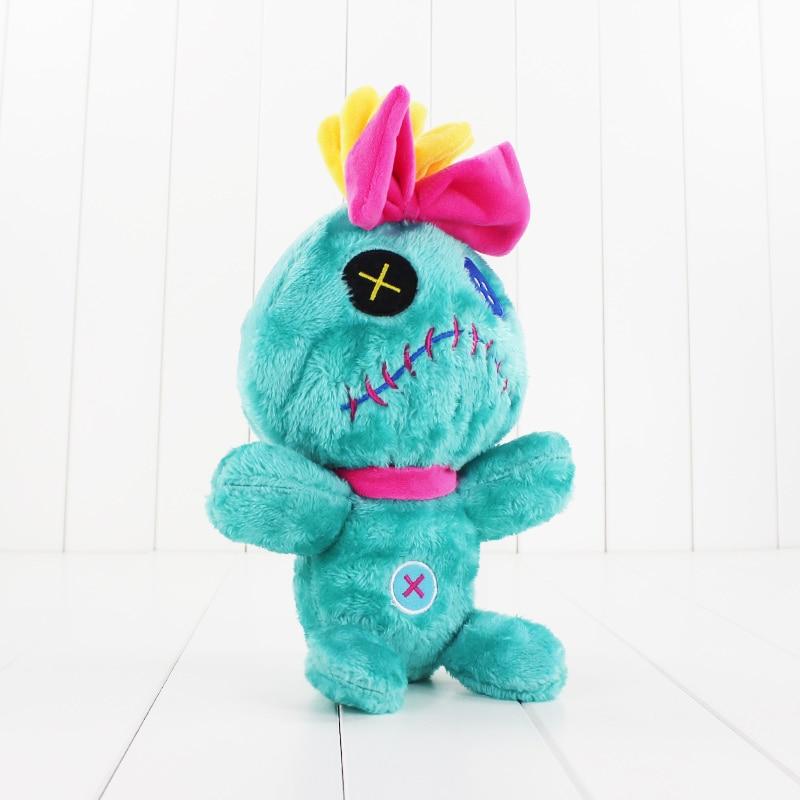 30cm Scrump Plush Doll Lilo & Stitch Cute Soft Stuffed Doll Hot Movie Figure Kawaii Good Christmas Gift For Kids