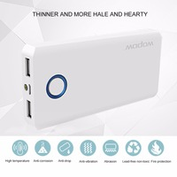 Wopow 10000mAh Power Bank Fast Charging Large Capacity Powerbank Portable Charger Dual USB Charging Port External