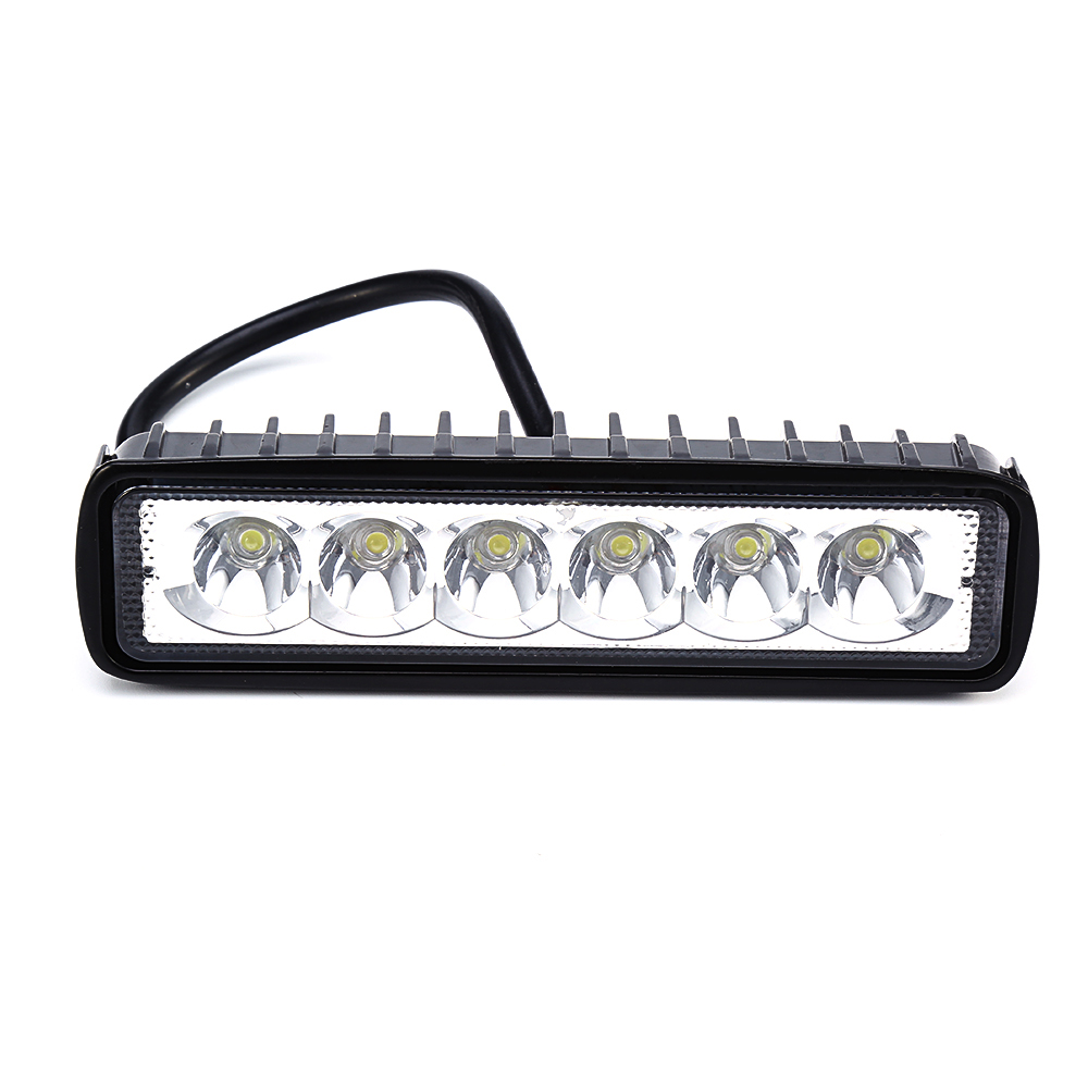 18W LED Work Light Bar External Driving Light Spot Fog offroad Automobiles LED Work Lamp led 12v For Jeep BMW SUV Car-Styling