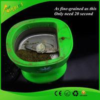 2015 new arrival creative electric grinder coffee bean / sesame / tobacco herb electric green grinder