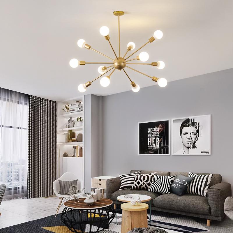 Modern LED Ceiling Chandelier Lighting Living Room Bedroom Chandeliers Lustre Led Hanging
