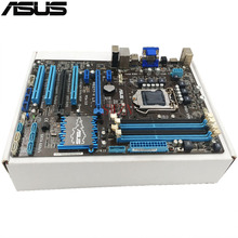 original Used Desktop motherboard For ASUS P8Z77-V LX Z77 support Socket LGA1155 4*DDR3 support 32G 4*SATA2  2*SATA3 ATX