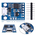 1PCS For OSX/Win/Linux OS Digispark Kickstarter Attiny85 Micro USB Development Board for Arduino IDE 1.0 Demo board
