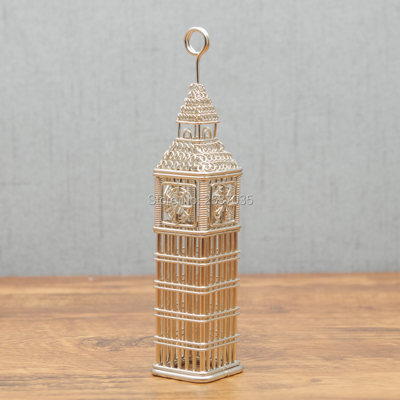 FREE SHIPMENT J21 LONDON BIG BEN MODEL 3D MEMO CLIP SCULPTURE/DECORATION ART CRAFTS WEDDING&BIRTHDAY&HOME&OFFICE&GIFT&PRESENT