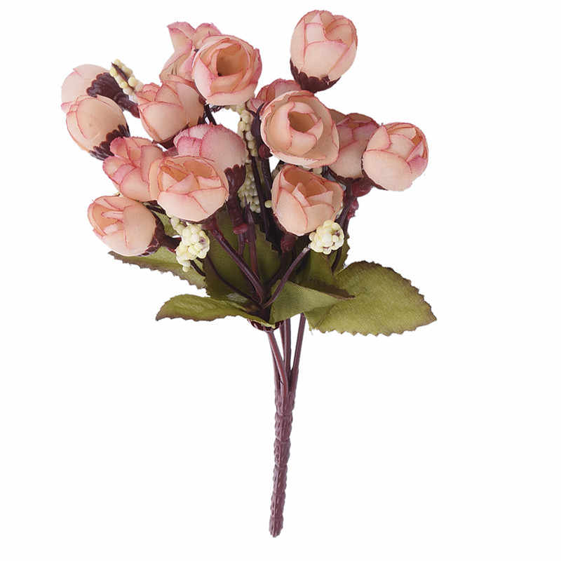 15 Bloemhoofdjes Kunstmatige Camellia Bloemen Bloemen Boeket Garden Party Decor Voor Thuis Woonkamer Bruiloft Decoratie