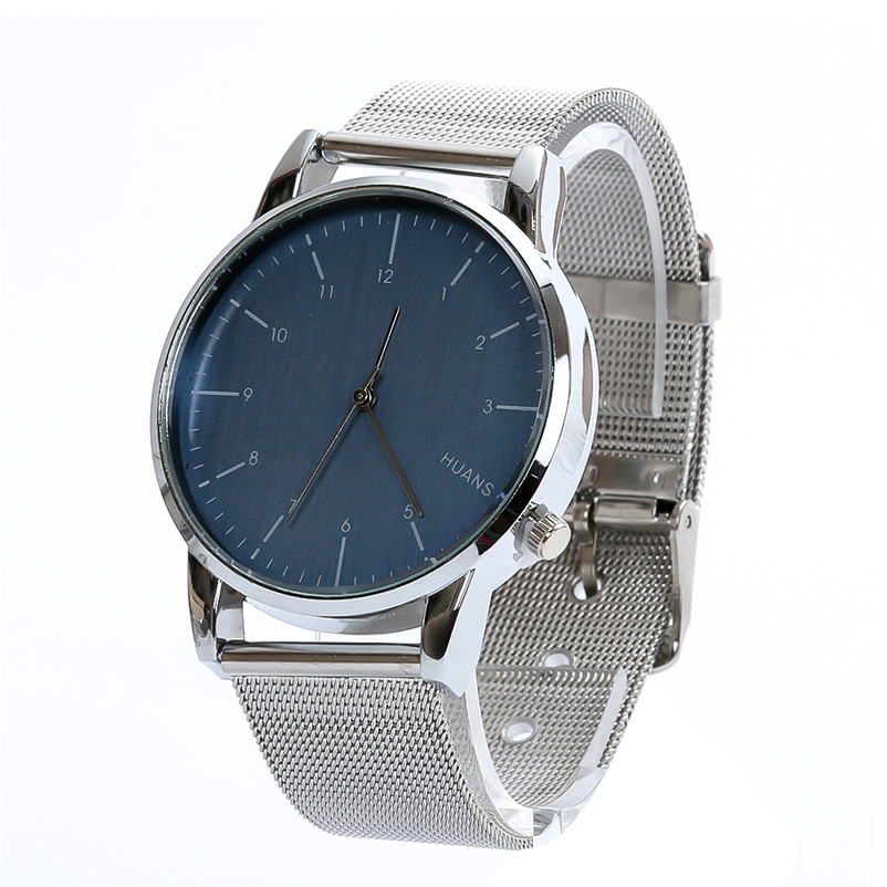 Fashion Luxury Analog Quartz Watch Men Stainless Steel Dial Wristwatch Mens Business Watches relogio masculino weide popular brand new fashion digital led watch men waterproof sport watches man white dial stainless steel relogio masculino
