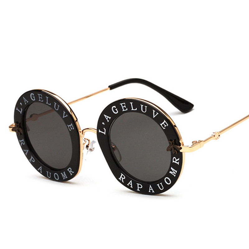 XIWANG Newest Retro Round Sunglasses Women Brand Designer Vintage Gradient Shades Sun Glasses UV400 Oculos Feminino Lentes