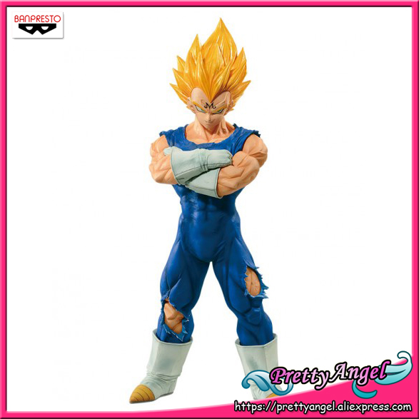 PrettyAngel Genuine Banpresto Resolution of Soldiers Grandista Vol 2 Dragon Ball Z Super Saiyan Majin Vegeta