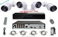 8ch NVR Kit Minimum Illumination 1080P SONY CMOS Sensor IP Camera P2P CCTV CCTV System 8CH
