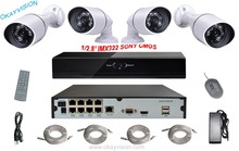 8ch 48V NVR Kit Minimum Illumination 1080P SONY CMOS sensor IP Camera P2P CCTV CCTV System 8CH POE NVR home kits