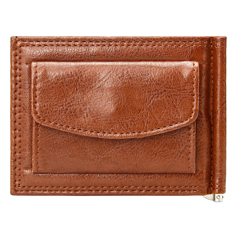 Wallet Cards-Case Money-Clip Coin-Pocket Bifold Business Slim Vintage Luxury Men Pu