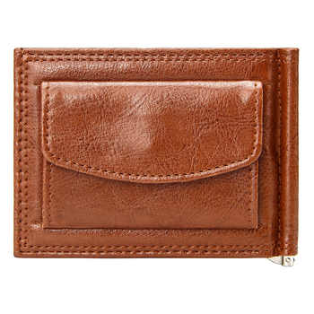 Vintage Slim Money Clip Luxury Quality Business Men Short Wallet with Coin Pocket Bifold Pu Leather Casual Cards Case Wallets - DISCOUNT ITEM  57% OFF All Category