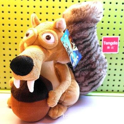 Hot Sales Animal Doll Ice Age 3 SCRAT Squirrel Stuffed Plush toy 7
