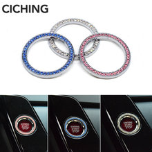 Car Styling Engine Start Stop Ignition Ring For Infiniti G35 G37 I35 M35 M45 Q45 3 Q50 Q60 Q70 Q70L EX 35 37 Q30 QX4 Accessories(China)