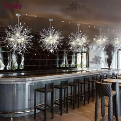 Nowoczesny żyrandol Led Lustre żyrandole kryształowe darmowe nabłyszczania De Cristal Sala salon z 24 watową żarówką Led G4