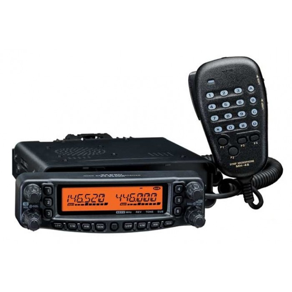 YAESU FT-8900R FT8900R Professional Car Mobile Two Way Radio Dual Band Car Transceiver Walkie-Talkie