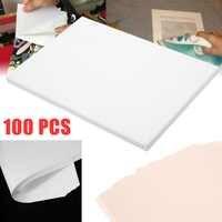 Novo 100 folhas a4 sublimação transferência de calor papel para poliéster algodão t-shirts coxim tecidos pano telefone caso impressão design