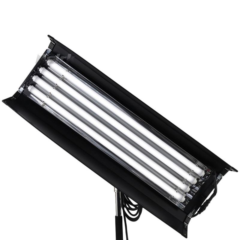 New version Bi color 4FT 4 bank LED Kinoflo 3200K-5600K Dimmable daylight with ballast for Film lighting Advertising Filmmarking new bi color 4ft 4 bank led kinoflo 3200k 5600k dimmable daylight with ballast for film lighting high cri for broadcasting