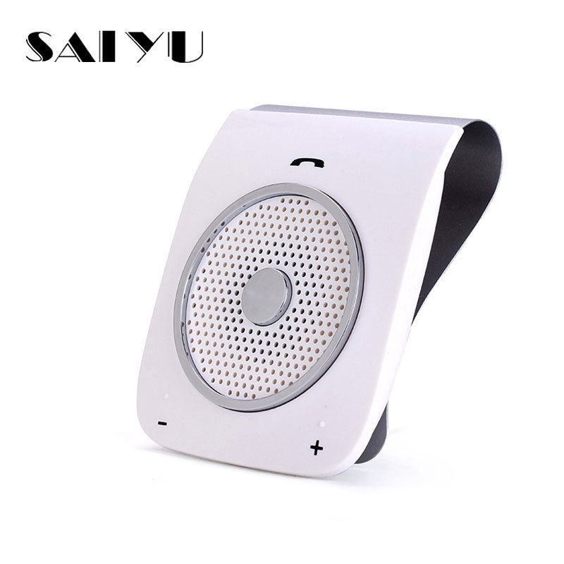 все цены на SAI YU Auto Sunvisor Speakerphone Bluetooth Hands free Stereo Bass Wireless Bluetooth Handsfree Car Kit For Smart Phone онлайн