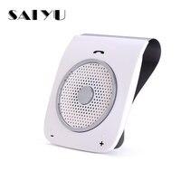 SAI YU Auto Sunvisor Speakerphone Bluetooth Hands free Stereo Bass Wireless Bluetooth Handsfree Car Kit For Smart Phone