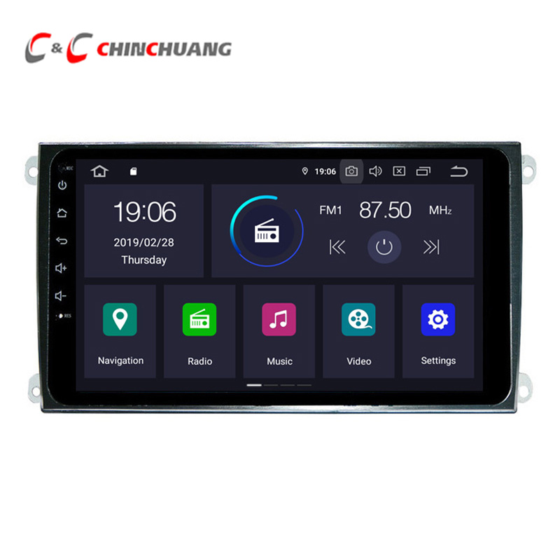 4GB RAM 8 core Android 9 0 Car DVD Player for Porsche Cayenne 2003 2013 Radio