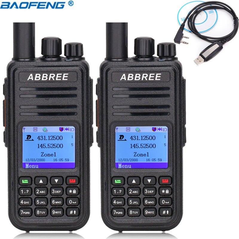 Candid Zastone Mini9 Dmr Mini Portable Digital Walkie Talkie 2w Uhf 400-470mhz Hf Transceiver Communicator Handheld Two-way Radio Walkie Talkie