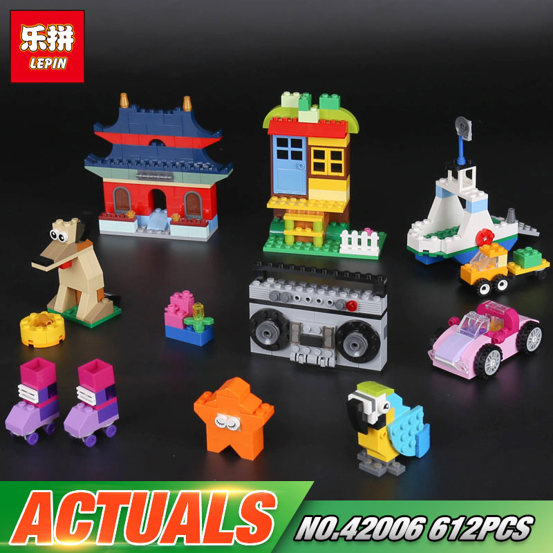 In stock Lepin 42006 612Pcs Creative Series The 10702 Creative Building Set Bricks Blocks Educational Funny Gifts Kid Toys Model lepin 16045 genuine 775pcs creative series the ship in the bottle set building blocks bricks toys model gifts