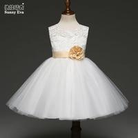 Sunny Eva Christmas Dress China Kids Fashion Dress Princess Girl Clothing Child Wedding Flower Girl Dresses