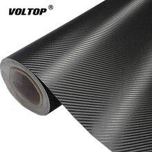3D Carbon Fiber Vinyl Auto Wrap Sheet Roll Film Auto stickers en stickers Motorfiets Auto Styling Accessoires Automobiles