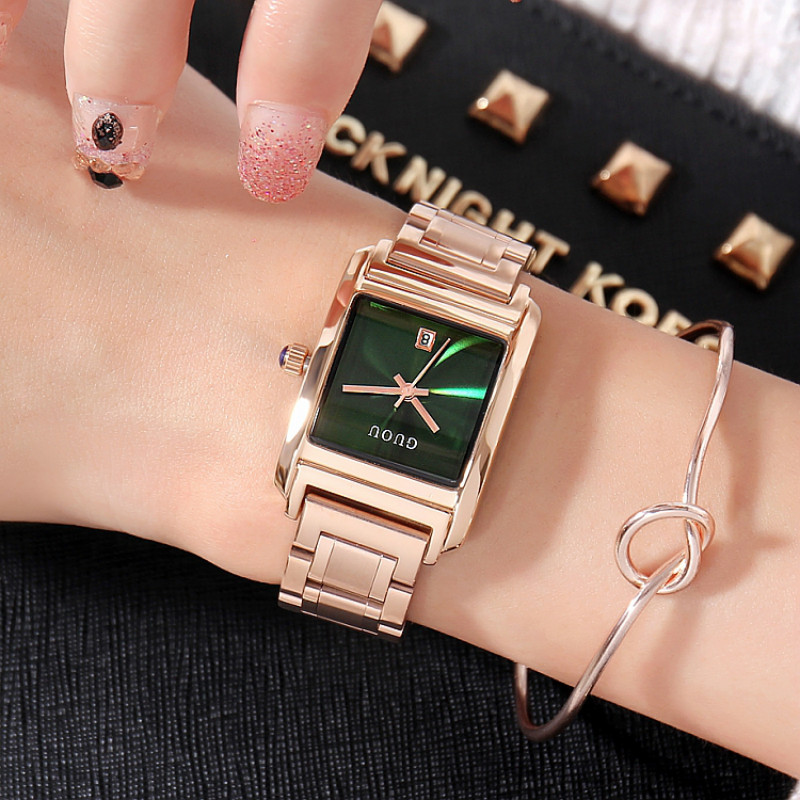 Famous Brand GUOU Luxury Ladies Watch Brand Women Watches Fashion Quartz Wristwatch Montre Femme Clock Female Reloj Mujer 2017 famous brand guou luxury ladies watch brand women watches fashion quartz wristwatch montre femme clock female reloj mujer 2017