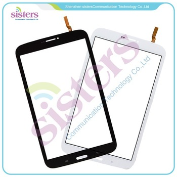 5PCS Wholesale High quality Touch Screen Digitizer for Smsung Galaxy Tab 3 8.0 T311 (3G) T310 (Wifi)  Black/White Tracking NO